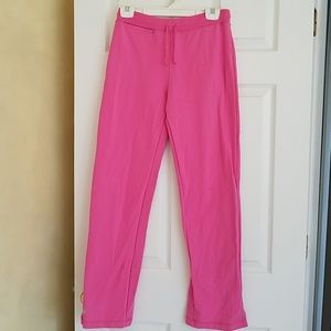 Lilly Pulitzer pink drawstring pants